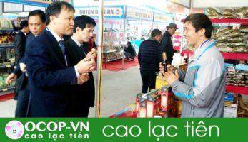 Cao Lạc Tiên an thần, sản phẩm xếp hạng 4 sao Ocop!