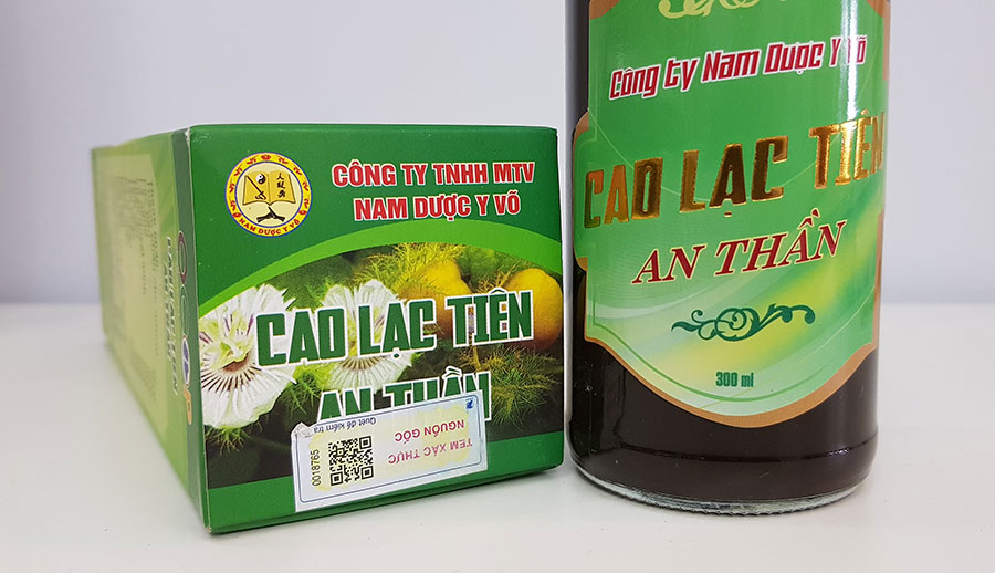 Tác dụng Cao Lạc Tiên!